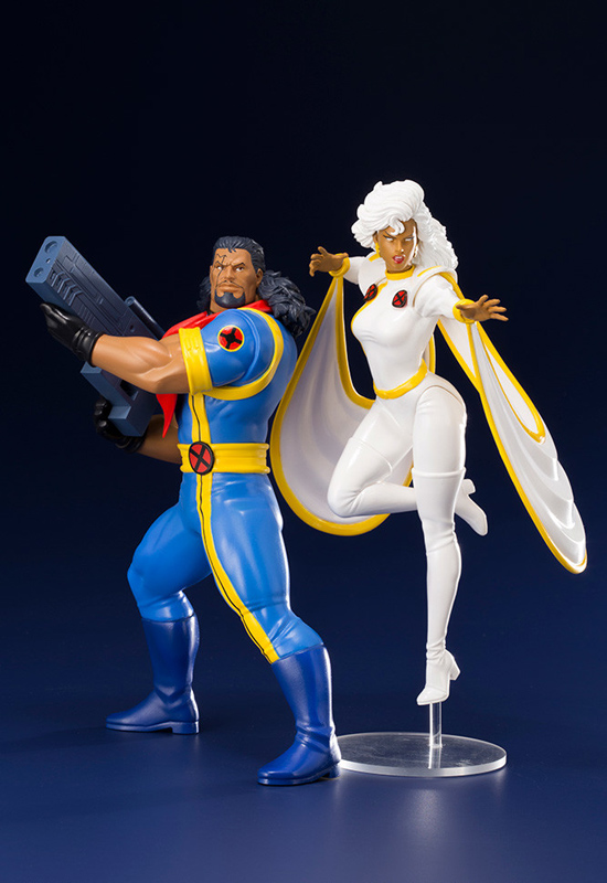Marvel: Bishop & Storm (Complete Figure)