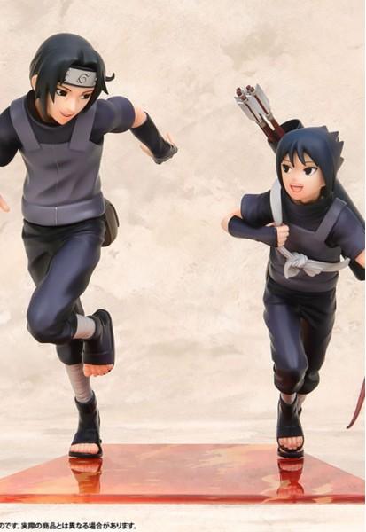 Naruto Shippuden: Itachi Uchiha & Sasuke (Complete Figure)