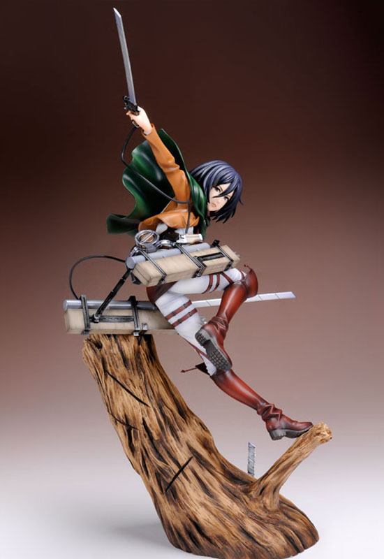 Attack on Titan: Mikasa Ackerman Renewal Package Ver. (Complete Figure)