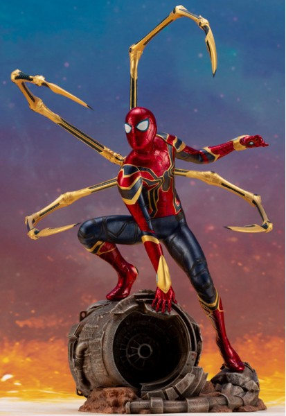 Marvel: Iron Spider Infinity War Edition (Complete Figure)