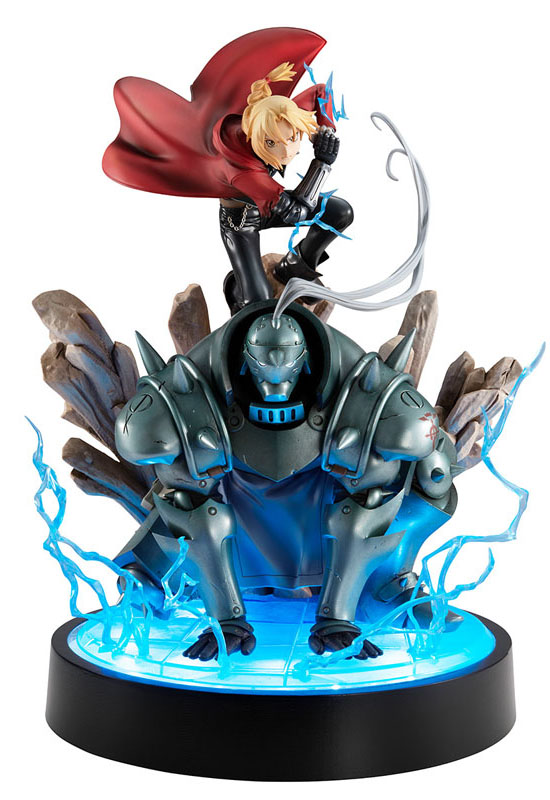 Fullmetal Alchemist: Edward & Alphonse Elric Brothers Set (Complete Figure)