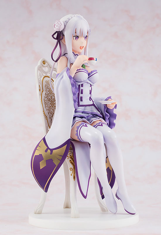Re: ZERO - Starting Life in Another World: Emilia Tea Party Ver. (Complete Figure)