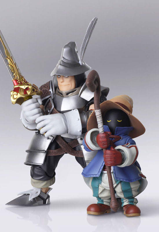 Final Fantasy IX: Vivi Ornitier & Adelbert Steiner (Action Figure)