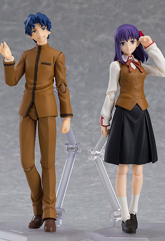 Fate/Stay Night: Shinji Matou & Sakura Matou (Figma)