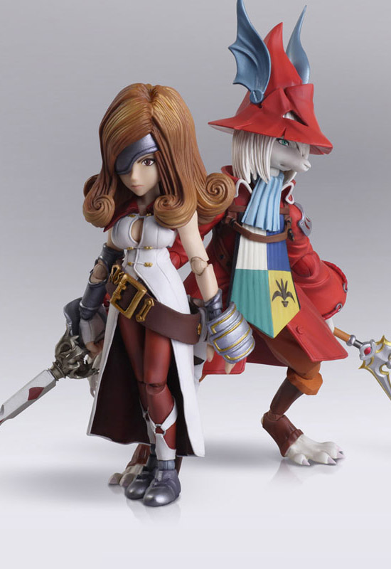 Final Fantasy IX: Freya Crescent & Beatrix (Action Figure)