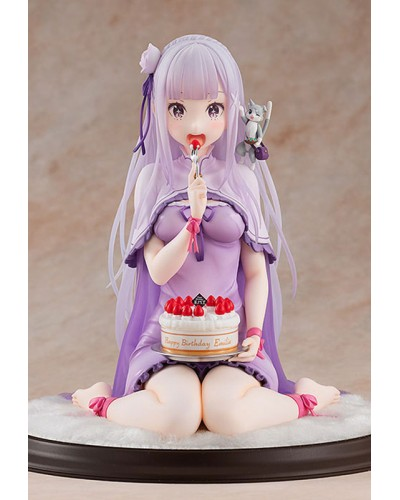 Re: ZERO - Starting Life in Another World: Emilia Birthday Cake Ver. (Complete Figure)