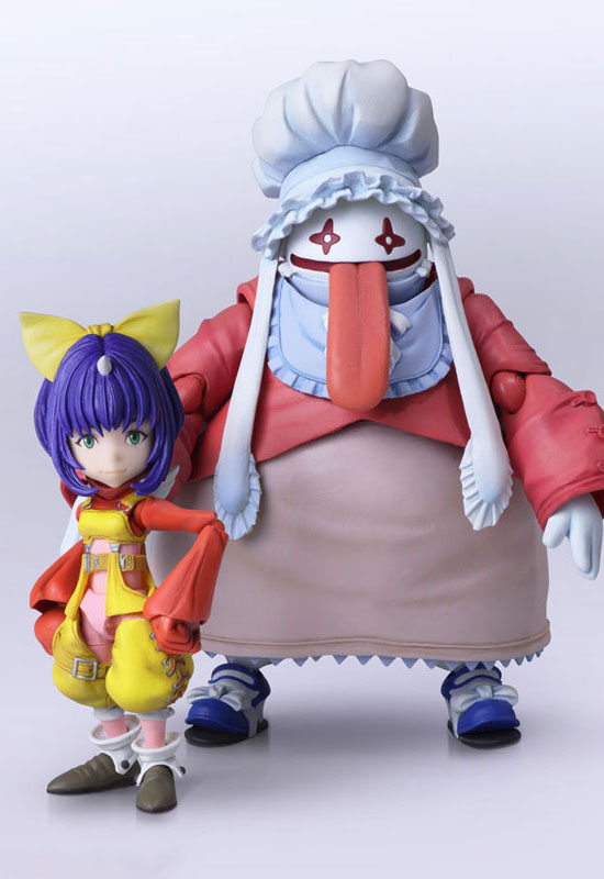 Final Fantasy IX: Eiko Carol & Quina Quen (Action Figure)