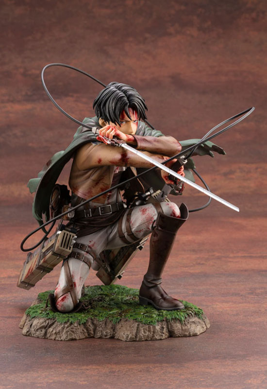 Attack on Titan: Levi Fortitude Ver. (Complete Figure)