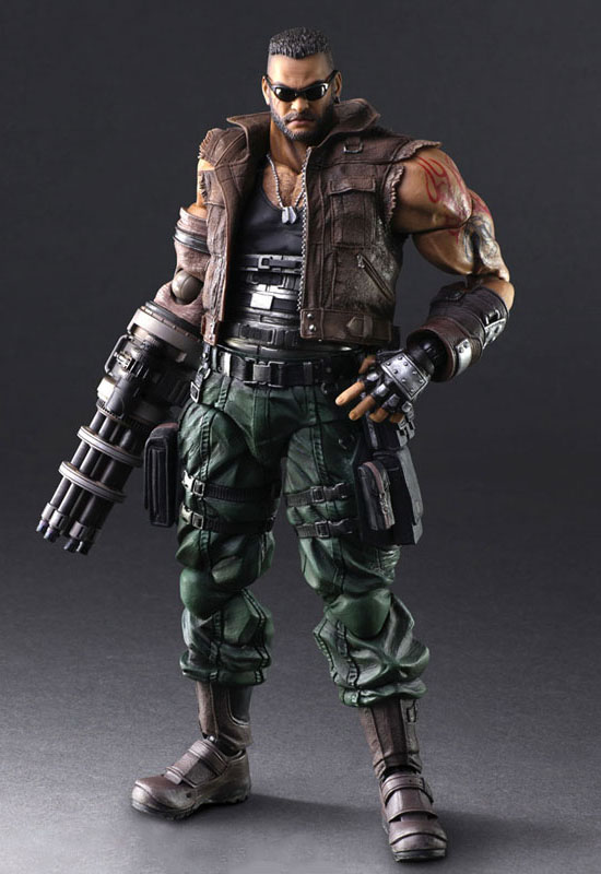 Final Fantasy VII Remake: Barret Wallace V.2 (Action Figure)