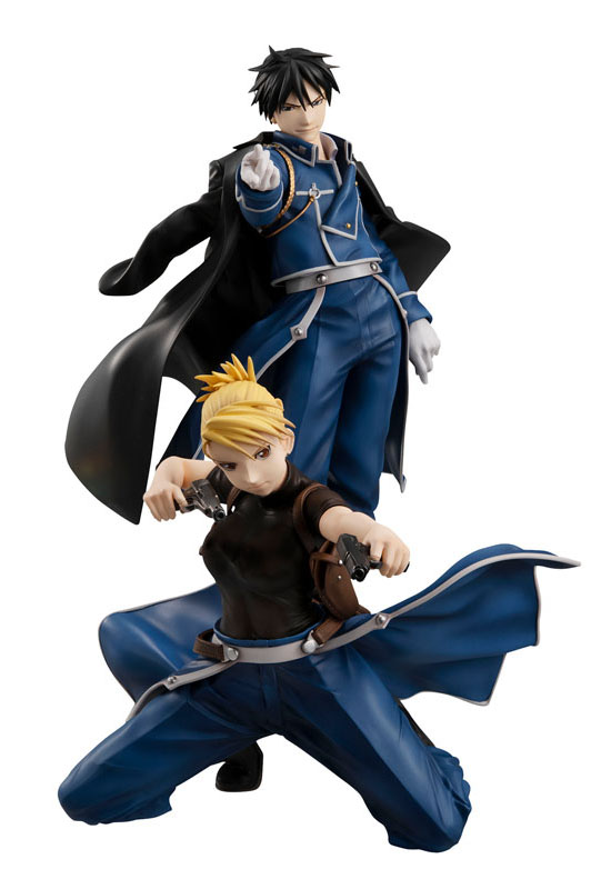 Fullmetal Alchemist: Roy Mustang & Riza Hawkeye (Complete Figure)