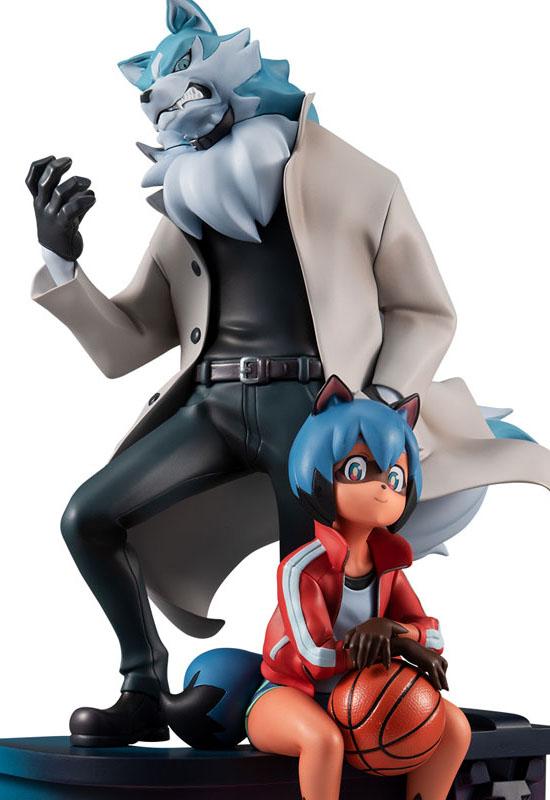 BNA Brand New Animal: Michiru Kagemori & Shirou Oogami (Complete Figure)
