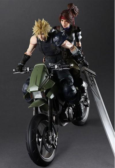 Final Fantasy VII Remake: Jessie & Cloud & Bike SET (Action Figure)