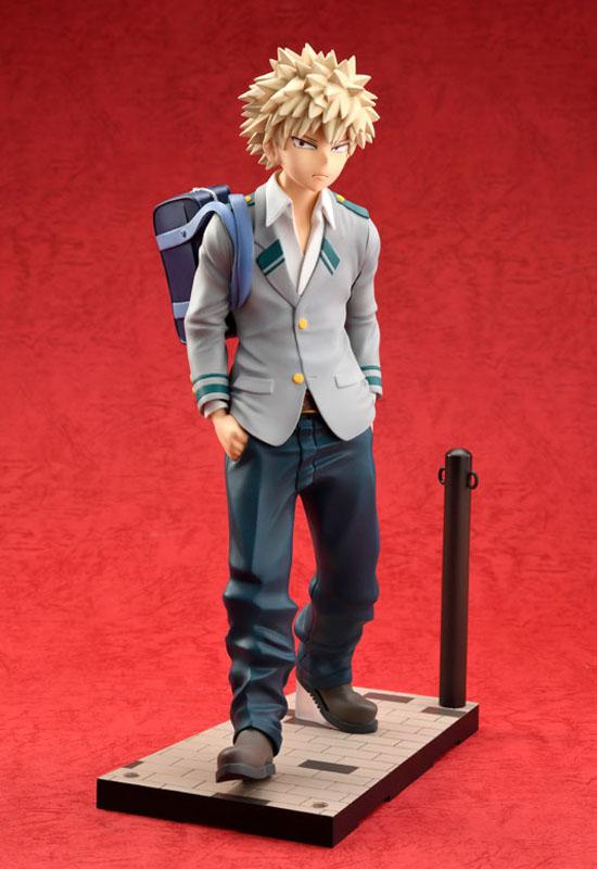 My Hero Academia: Katsuki Bakugo School Uniform Ver. (Complete Figure)