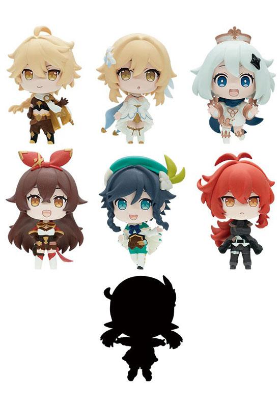 Genshin Impact Collection Set Mini Figure (Mini Figure)