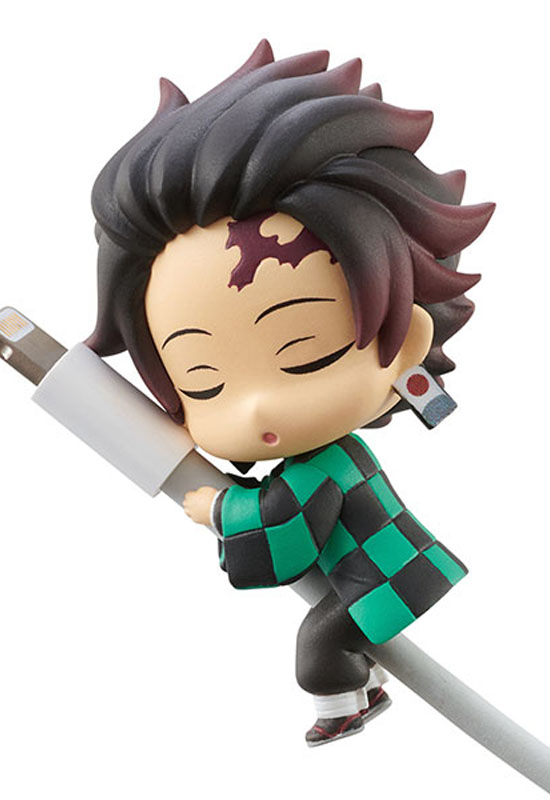 Kimetsu no Yaiba: Snoozing on the Cable Vol. 1 (Mini Figure 6pack)