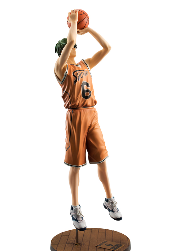 Kuroko no Basket: Midorima Shintarou Orange Uniform Ver. (Complete Figure)
