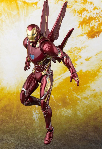 Marvel: Iron Man Mark 50 Nano-Weapon Set (Action Figure)