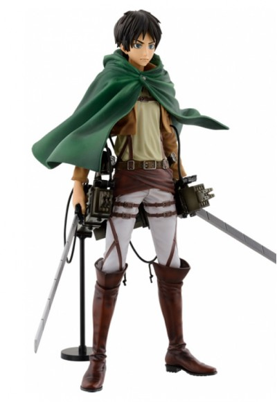 Attack on Titan: Eren Yeager & 3D Maneuver Gear Ver. MSP (Game Prize)