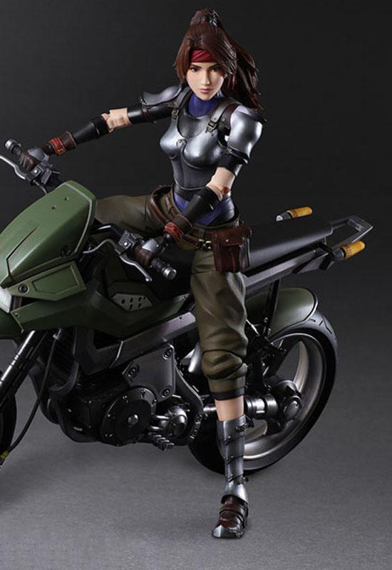 Final Fantasy VII Remake: Jessie & Bike SET (Action Figure)