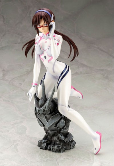 Evangelion: 3.0+1.0 Thrice Upon a Time Mari Makinami Illustrious White Plugsuit ver. (Complete Figure)